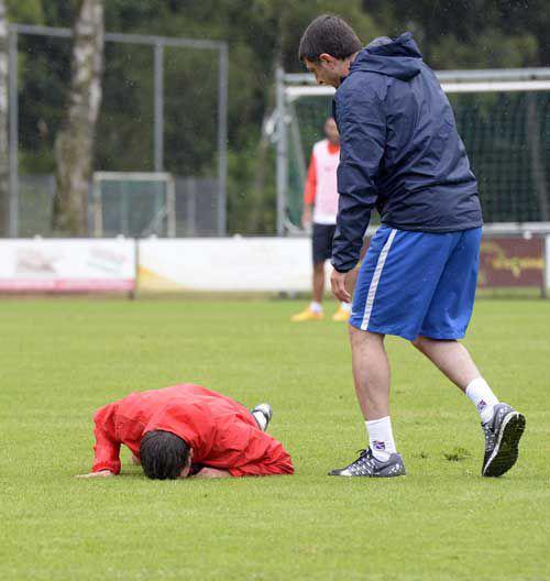 Bourceanu a primit verdictul medicilor după accidentarea suferită la genunchi / GALERIE FOTO