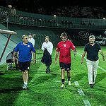 Ce rușine a pățit Mircea Lucescu! L-a bătut Lasagna! GALERIE FOTO