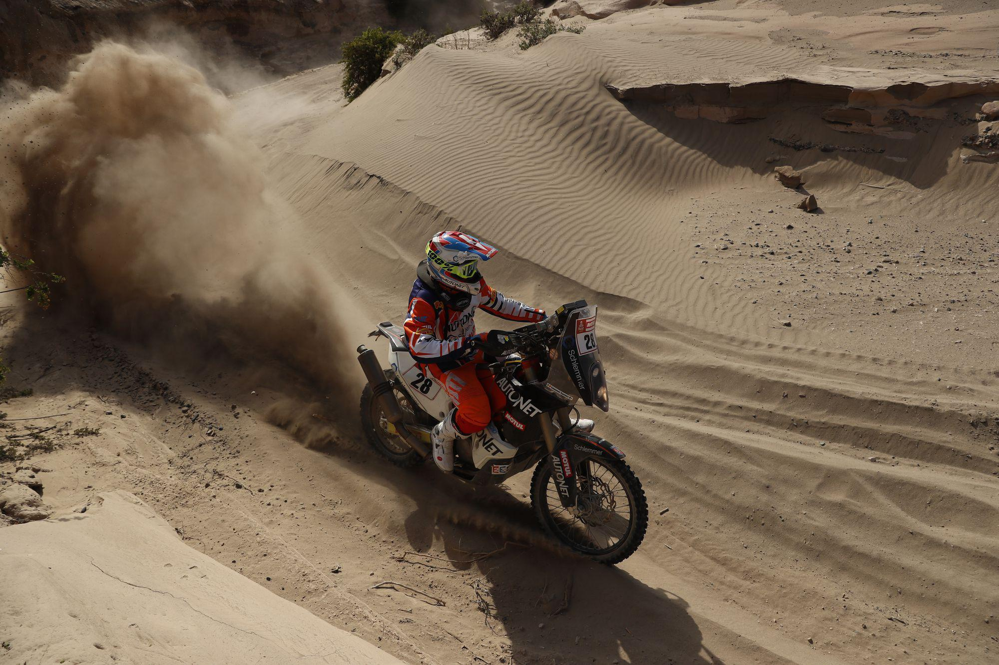 Fourth stage of the 2018 Dakar rally