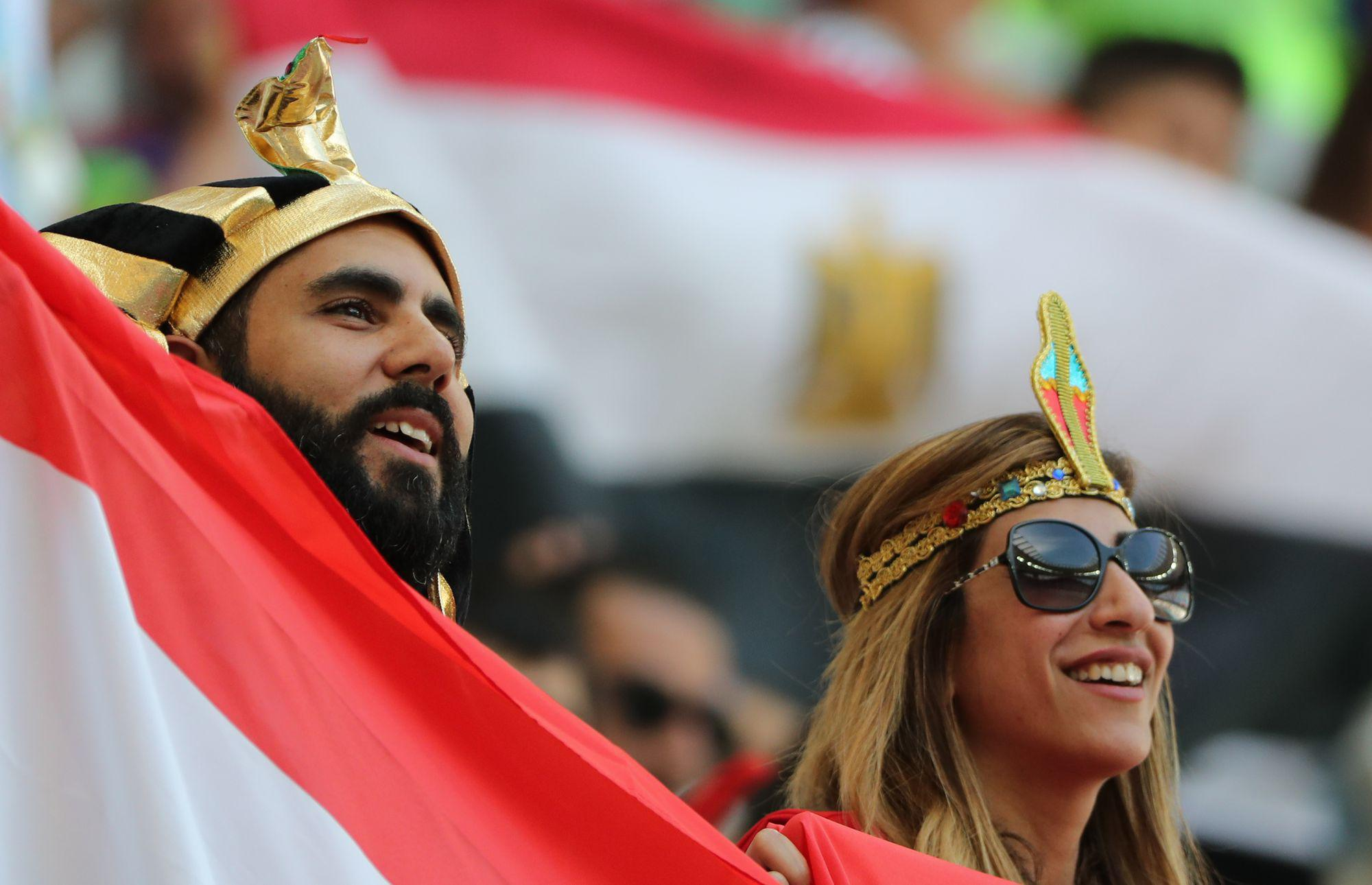 Group A Saudi Arabia vs Egypt