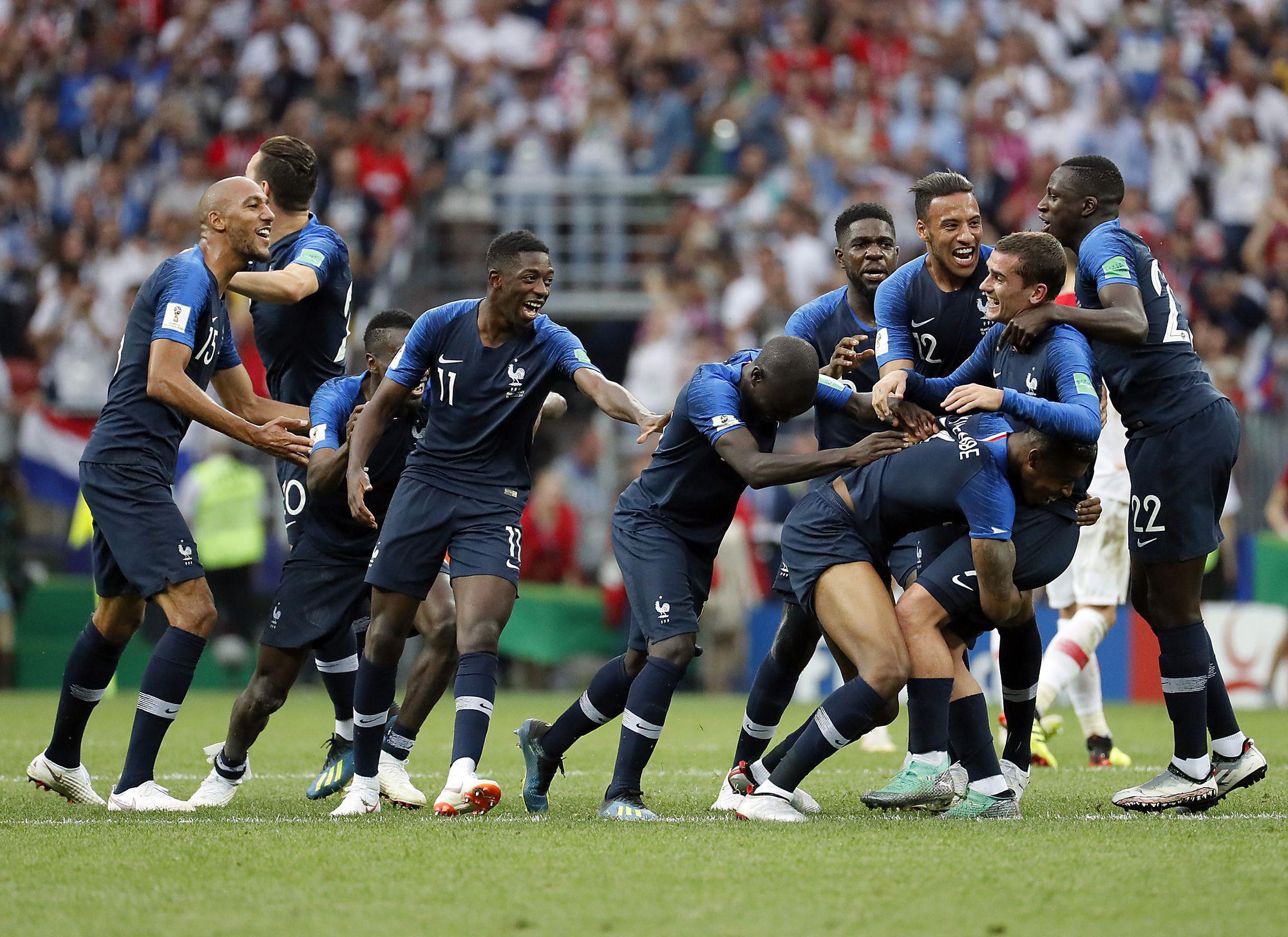 Final France vs Croatia