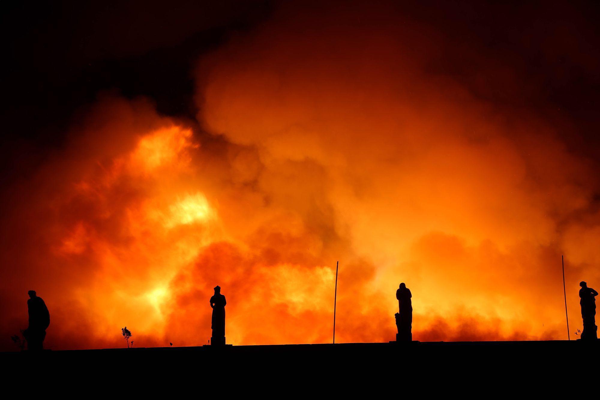 Incendiu de proporții la Muzeul Național din Rio de Janeiro