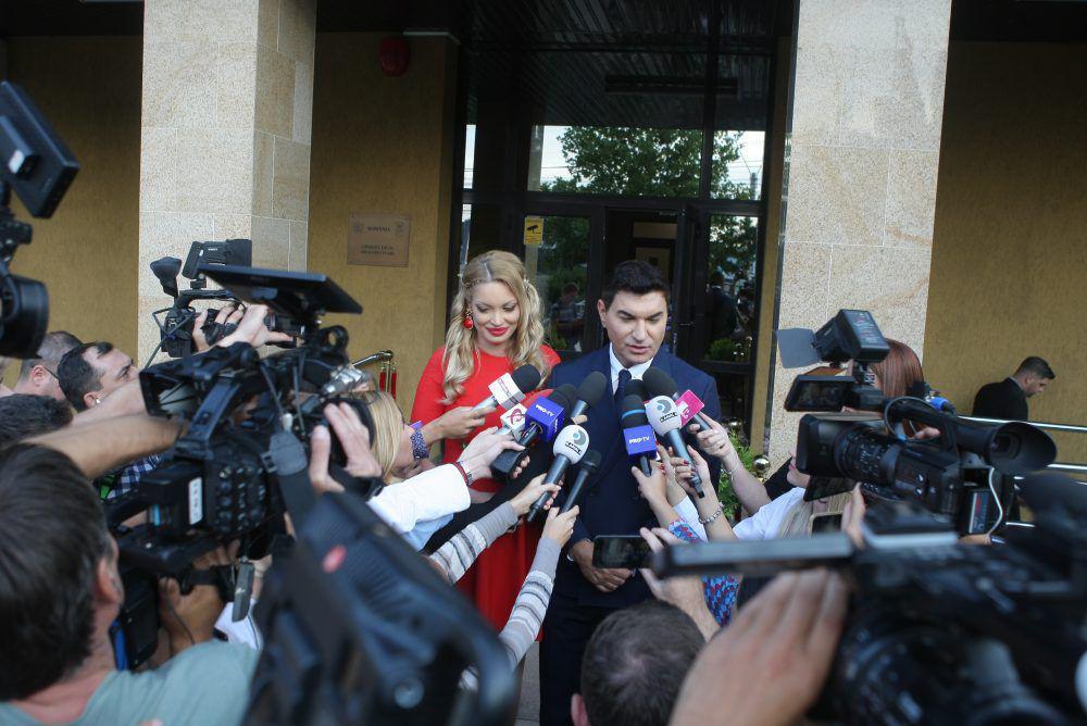 FOTO | Cristi Borcea și Valentina Pelinel s-au căsătorit. Primele declarații ale fostului șef de la Dinamo