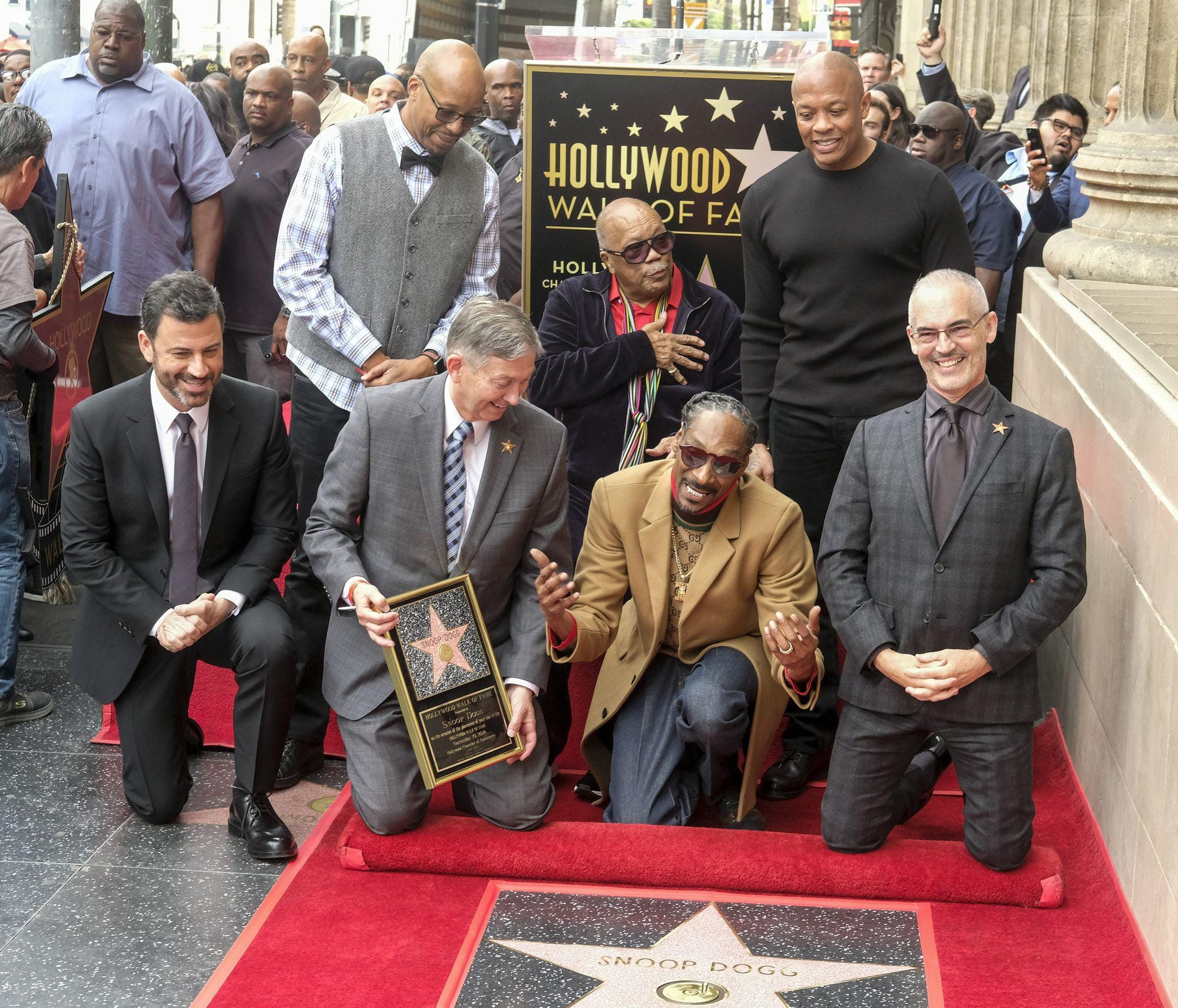 Snoop Dogg Receives Star On Hollywood Walk Of Fame