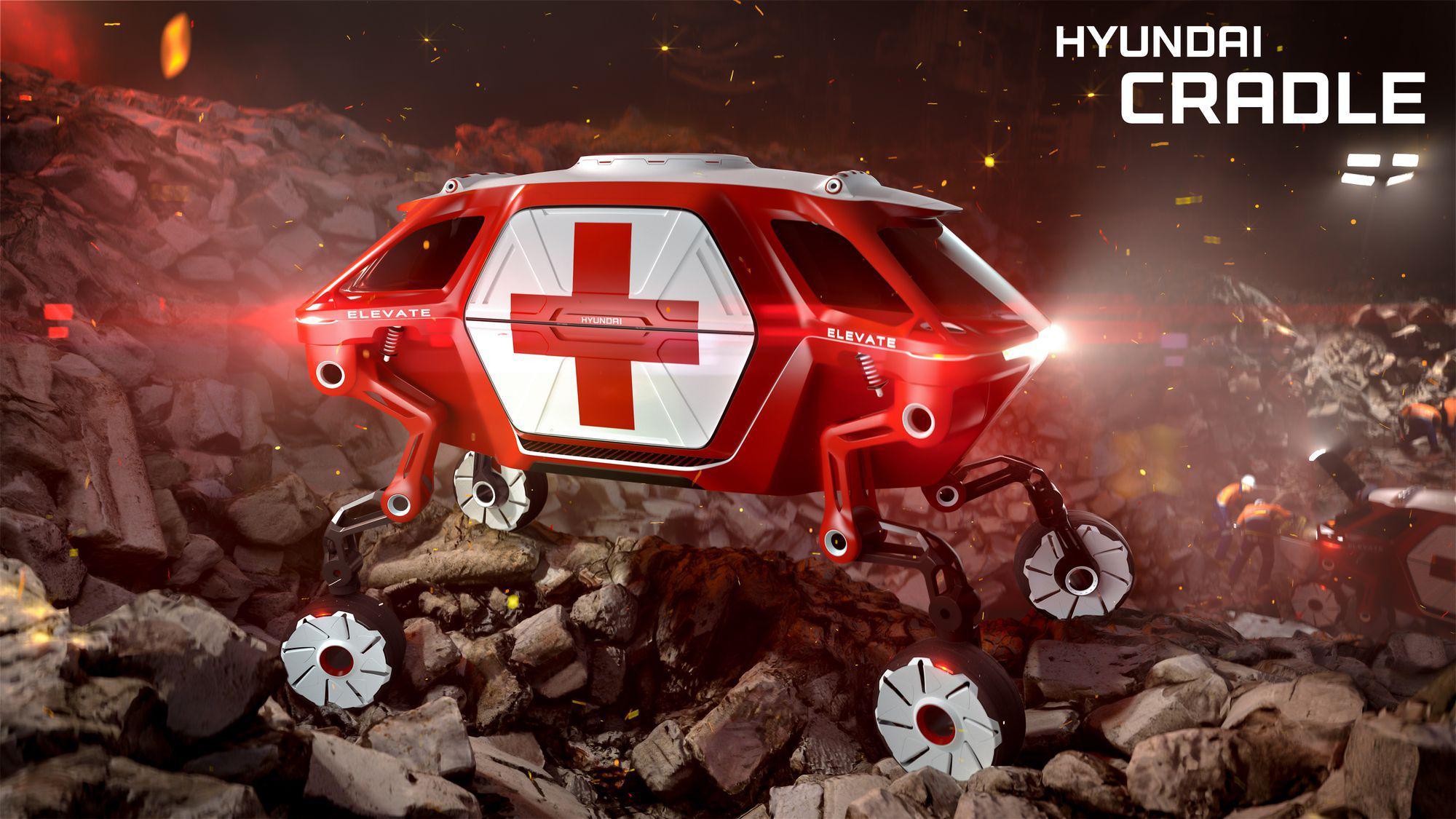 Hyundai a prezentat mașina cu picioare robotizate (1)