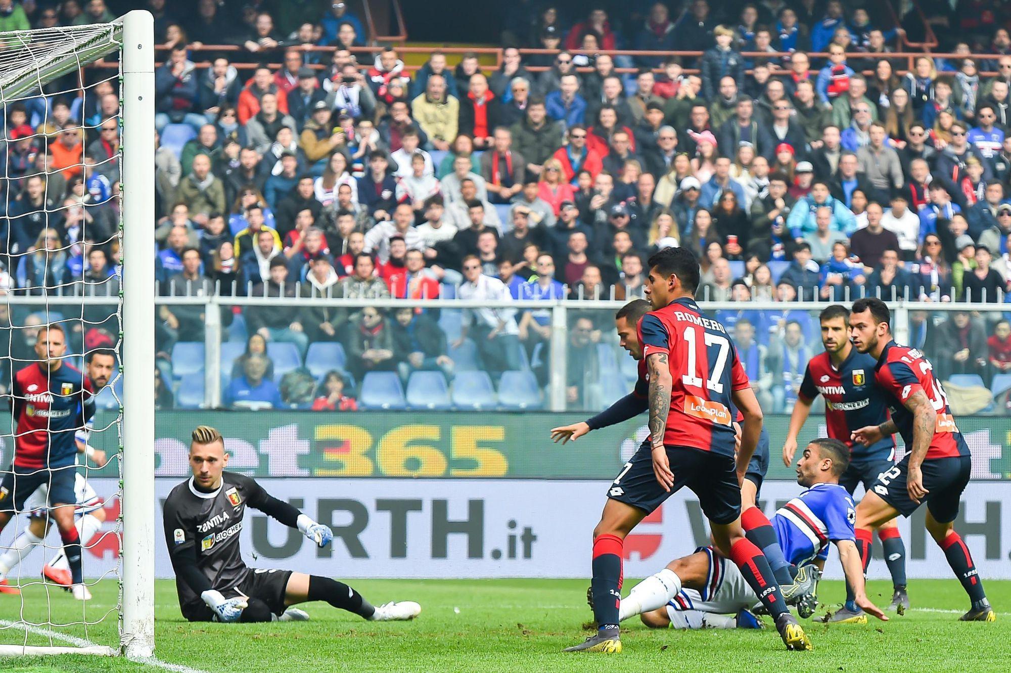 Uc Sampdoria vs Genoa Cfc