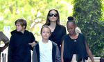 Angelina Jolie takes the kids to the movies