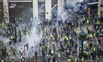 protest vestele galbene Paris, Franța