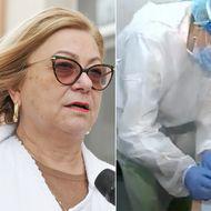 """Șefa Spitalului de Boli Infecțioase Iași, """"certată"""" de Agenția Medicamentului după ce a arătat la TV cum se fac testele rapide COVID, interzise acum în farmacii"""