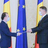 """Guvernul Cîțu a trecut de votul Parlamentului. Miniștrii au depus jurământul la Palatul Cotroceni. Iohannis: """"La treabă!"""""""