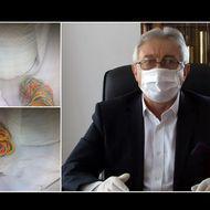 Medicii de la spitalul din Topliţa au primit suluri de hârtie şi elastice de bucătărie, ca să-şi facă măşti de protecţie, dar primarul a apărut cu mască