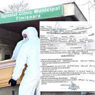 """DOCUMENTE. Morţii din """"containerele COVID"""" netrecuţi în statistici. La Timişoara, pe poarta unui spital care nu a raportat niciun deces au ieşit 13 sicrie sigilate"""