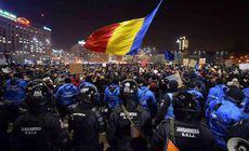 """Protest #Rezist în Piața Victoriei: """"Corupții din PSD ne scot din UE"""""""