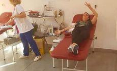 Senatorii au votat ca donatorii de sânge să primească un sms de mulţumire. Ministerul Sănătăţii nu susţine propunerea
