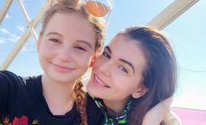 """Fata Monicăi Gabor împlinește 12 ani. Mesajul transmis de fosta doamnă Columbeanu. """"Mi-ai dăruit mult mai mult """""""