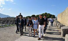 FOTO | Klaus Iohannis nu a fost prezent miercuri la reuniunea Consiliului European privind Brexit. Președintele a vizitat parcul Pompei