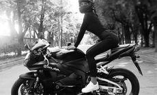 Cea mai sexy motociclistă din lume a murit într-un accident oribil. Olga Petrova avea 22 de ani (FOTO)