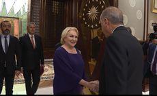 O nouă gafă, marca Viorica Dăncilă, în timpul întrevederii cu Erdogan! Românii au tăiat sunetul, turcii au prezentat tot |VIDEO
