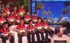 FOTO și VIDEO | Primul interviu al băieților salvați din peștera din Thailanda. Au avut parte de o surpriză de proporții