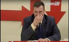 VIDEO/Cum a devenit «celebru» directorul Institutului de Psihiatrie Socola în urmă cu 10 ani. A făcut o criză de râs la o emisiune TV în direct, când vorbea despre cancer