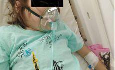 Apel disperat al unei mame către Ministerul Sănătății. Copilul ei are nevoie de transplant de plămâni