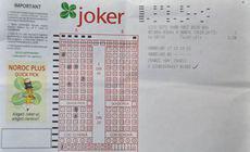 LOTO. S-a prezentat câștigătorul premiului de categoria I la Joker.  Ce vrea bărbatul să facă cu banii