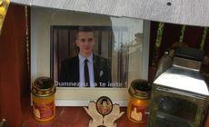 Englezii sunt bulversați de mesajul în română de pe un altar făcut în memoria unui tânăr român
