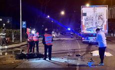 Șoferul român de TIR, care a izbit un motociclist în Italia, este acuzat de ucidere