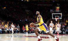 LeBron James a intrat în Top 5 puncte marcate în NBA