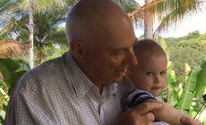 FOTO | Un bunic și-a salvat nepotul din fălcile unui piton