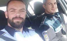 Cum au reacționat doi polițiști din Oradea, după ce radarul lor a fost semnalat pe Facebook