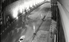 VIDEO | Momentul în care un turist băut vandalizează un monument istoric. Acum riscă 10 ani de închisoare