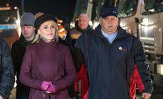 Gabriela Firea a anunțat că 700 de utilaje şi 2.500 de operatori vor asigura deszăpezirea iarna aceasta în Capitală