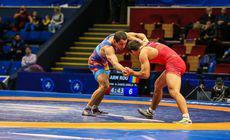 Campionatul Mondial de lupte Under 23, la București. Argint pentru Maxim Vasilioglo. Avem 8 medalii, dar nici un aur!