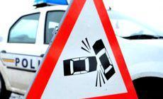 Un poliţist de frontieră a adormit la volan şi a provocat un accident grav