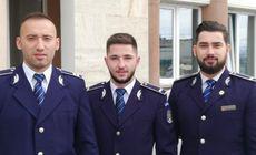 Trucul prin care trei polițiști tineri au reușit să-l prindă pe recidivistul care a tâlhărit o fată în Alba Iulia