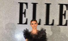 FOTO/ Alina Eremia, prințesă sexy la Gala Elle Style Awards 2018