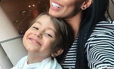"""Andreea Mantea și fiul ei s-au întors în România. Ce a pățit vedeta. """"Mi-e greu să vorbesc"""""""