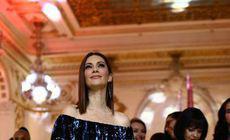 Andreea Berecleanu, cu o rochie suspect de largă. Cum s-a afișat la Gala Elle Style Awards 2018