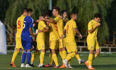 """România U17, 1-5 cu Austria U17 și 0-3 cu Italia, în Turul de Elită. Dezastru pentru """"naționala președinților"""""""
