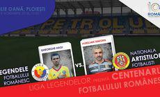 O mulțime de foste glorii, la Centenarul Fotbalului Românesc. Duminică, la Ploiești, naționala legendelor joacă împotriva naționalei artiștilor