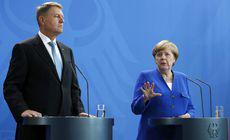 Angela Merkel i-ar fi cerut lui Klaus Iohannis să oprească mutarea ambasadei României la Ierusalim