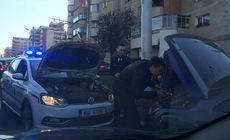 Gestul unui polițist din Cluj i-a făcut pe internauți să-și scoată pălăria