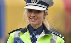 Mesajul primit de MAI după ce această polițistă a fost văzută dirijând circulația în București