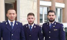 Cine sunt polițiștii care l-au prins pe agresorul tinerei din Alba