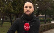 """Povestea lui Cristi Georgescu, reporterul cu o singură mână de la """"Observator"""". A fost găsit pe podea cu brațul tăiat"""