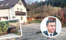 Primarul Mihai Chirica ar avea o vilă secretă. Pe domeniul din Suceava există o cramă săpată în deal, patru foișoare și chiar o biserică