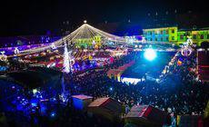 GALERIE FOTO| S-a deschis târgul de Crăciun de la Sibiu. Ediția din 2018 este dedicată Centenarului