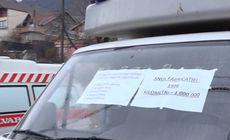 Protest inedit în faţa Spitalului Municipal Orşova. Gestul făcut de managerul unității medicale