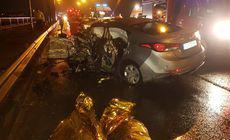 Grav accident auto în localitatea Ovidiu. Două femei și o fetiță de 3 ani au murit (VIDEO)